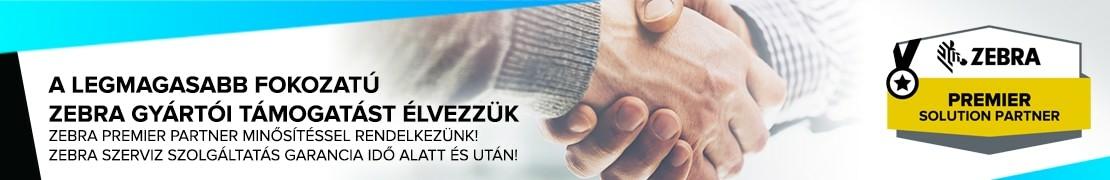 Zebra Premier Partner - DunaShop
